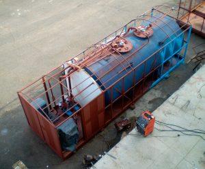 Процесс производства контейнерной АЗС
