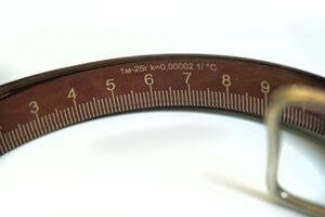Образцовая измерительная лента 3-го разряда